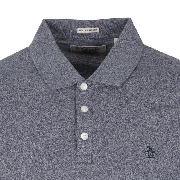 Original Penguin Mens Blue Jaspe Polo Shirt main image