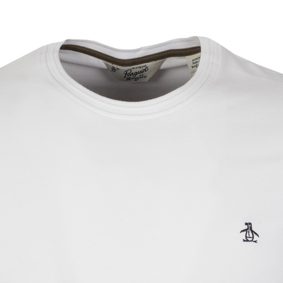Original Penguin Mens White Winston Pique T Shirt main image