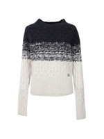 Ombre Honeycombe Knit