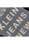 Calvin Klein Womens Black Crew Neck Straight Fit T Shirt