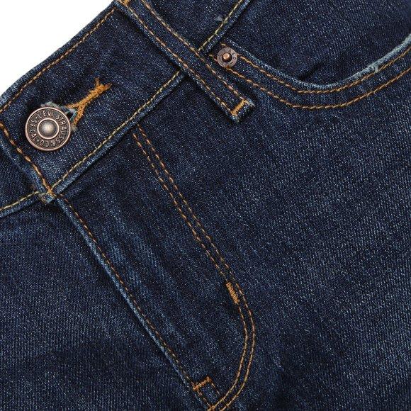 Levi's Womens Blue 714 Straight Jean main image