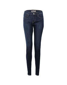 Levi's Womens Yellow 710 Super Skinny Jean
