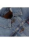 Levi's Womens Blue Boyfriend Trucker Jacket