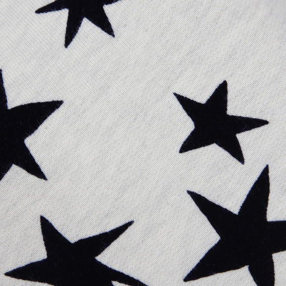 Maison Scotch Womens Off-white Star Print Crew Neck Sweat main image