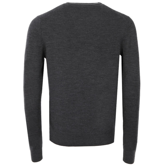 Fred Perry Mens Grey Crew Neck Jumper main image
