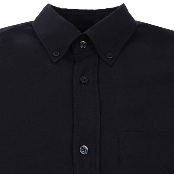 J.Lindeberg Mens Blue Dani BD Pocket Stretch Plain Oxford  Shirt main image
