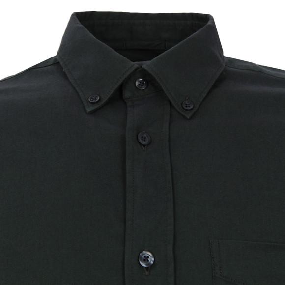 J.Lindeberg Mens Green Dani BD Pocket Stretch Plain Oxford  Shirt main image