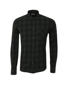 J.Lindeberg Mens Green Daniel Soft Check Shirt