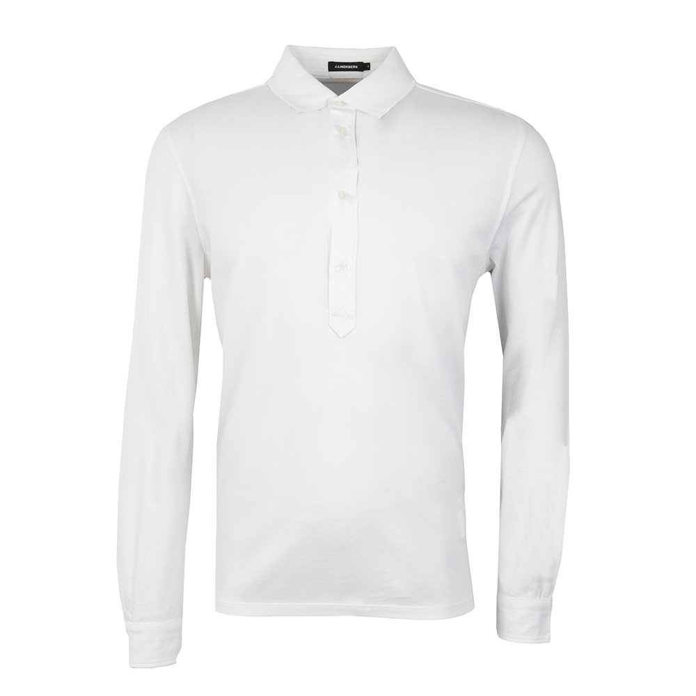 Conny Lux Long Sleeve Pique Polo Shirt main image