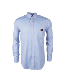 Paul & Shark Mens Blue Pocket Logo Shirt