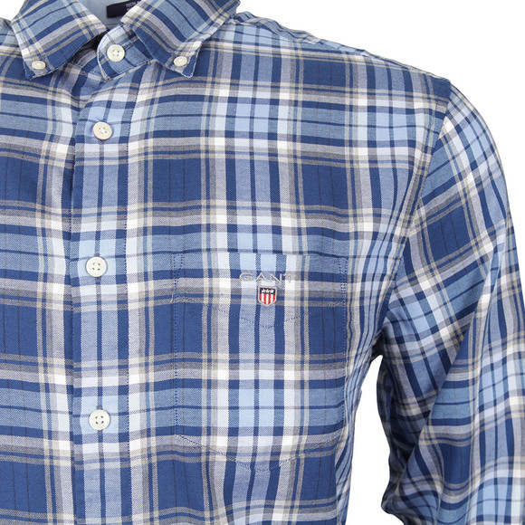 Gant Mens Blue L/S Oxford Shirt main image