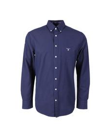 Gant Mens Blue L/S Plain Shirt