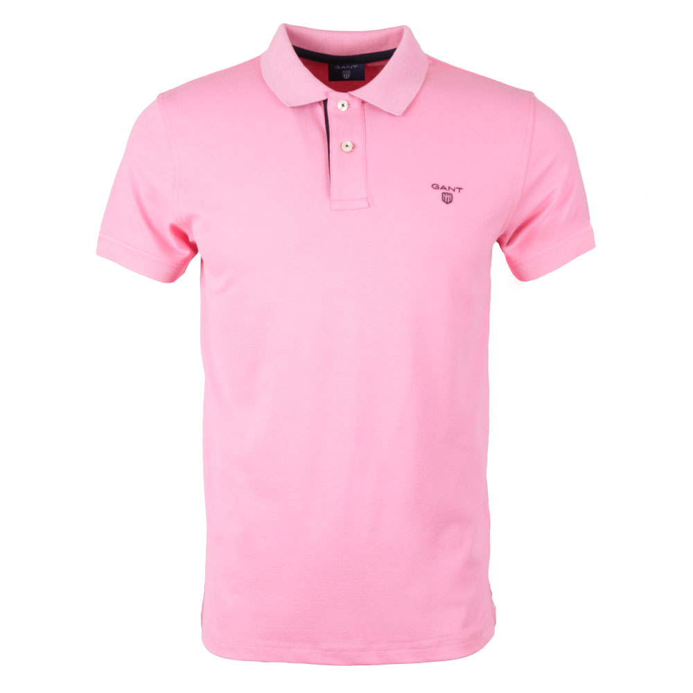 Contrast Collar Polo main image