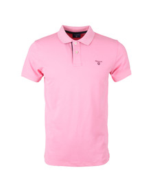 Gant Mens Pink Contrast Collar Polo