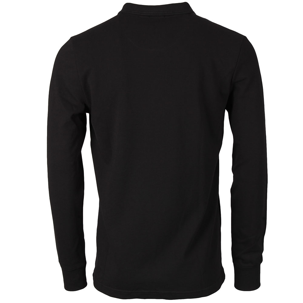 Waffle Front Winston Long Sleeve Polo Shirt main image