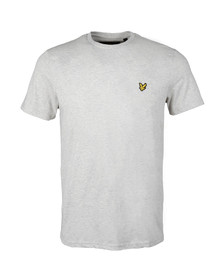 Lyle and Scott Mens Off-white S/S T-Shirt