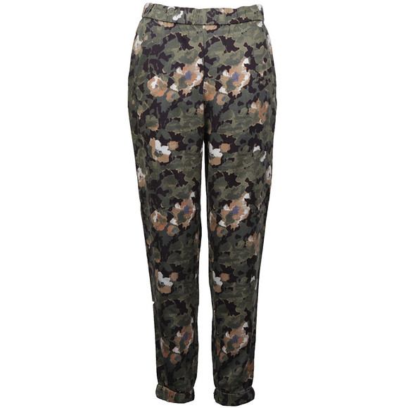 French Connection Womens Green Adeline Dream Drape Jogger main image