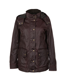 Belstaff Womens Red New Tourmaster Wax Jacket