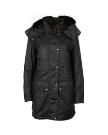 Belstaff Womens Black CT Master Parka With Liner & Fur