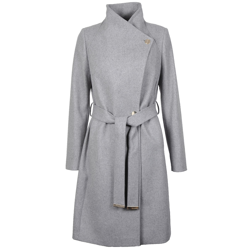 bf214b597f1a96 Ted Baker Aurore Long Wrap Collar Coat