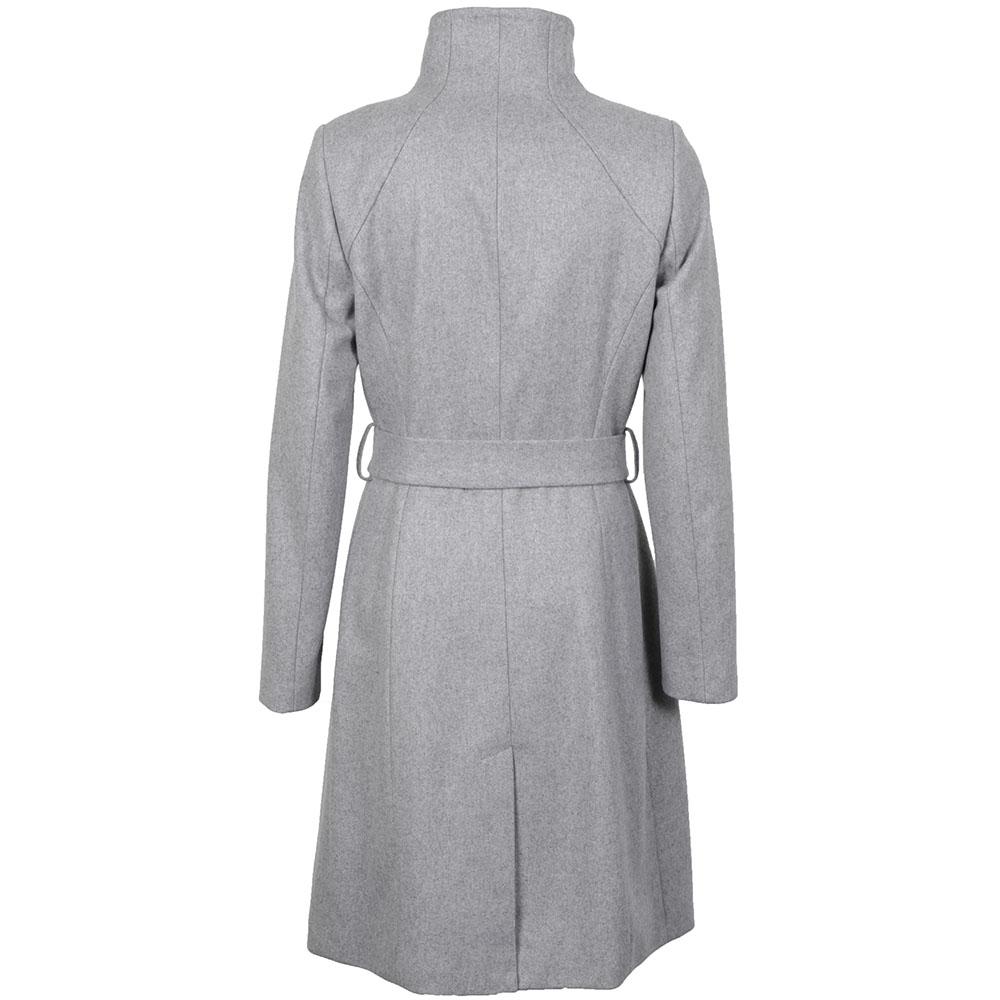 Aurore Long Wrap Collar Coat  main image