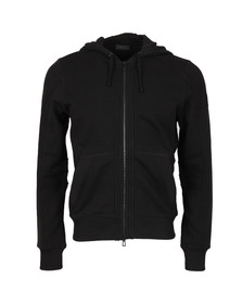 Belstaff Mens Black Fleming Hooded Sweatshirt