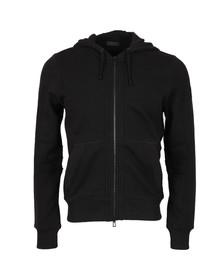 Belstaff Mens Black Fleming Hooded Sweatshirt