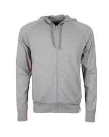 Paul Smith Mens Grey Loopback Full Zip Hoody