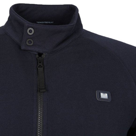 Weekend Offender Mens Blue Horden Full Zip Sweat main image