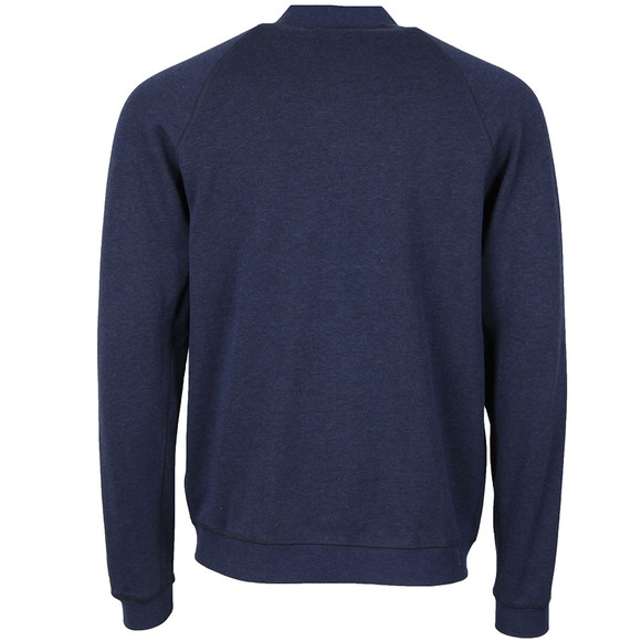 Farah Mens Blue Carrick Bomber Sweat main image