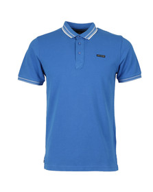 Duck & Cover Mens Blue S/S Acute Polo