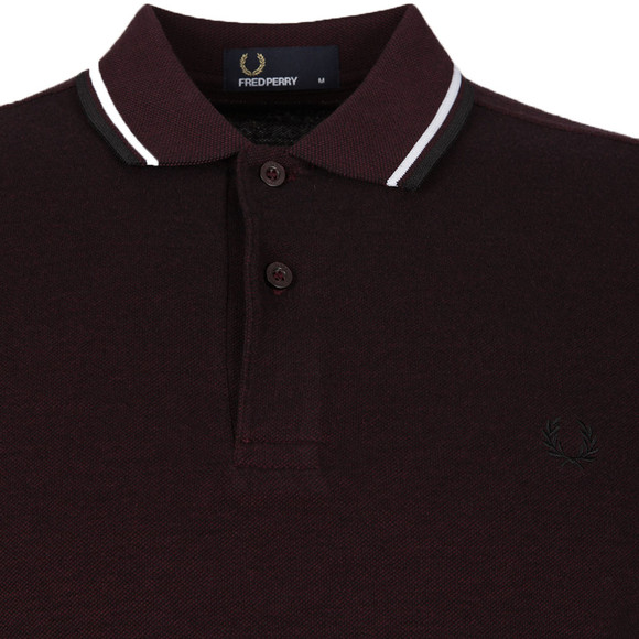 Fred Perry Mens Purple Twin Tipped Polo Shirt main image