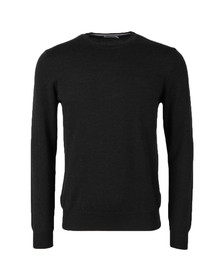 J.Lindeberg Mens Grey Lyle Merino Knit Jumper