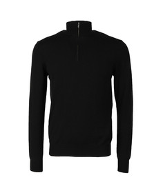 J.Lindeberg Mens Black Tim True Merino Jumper