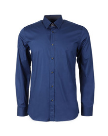 Hugo Mens Blue Elishan Slim Shirt