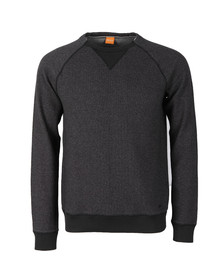 Boss Orange Mens Black Warys Sweatshirt