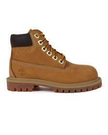 Timberland Boys Beige Boys Original 6 Inch Premium Boot