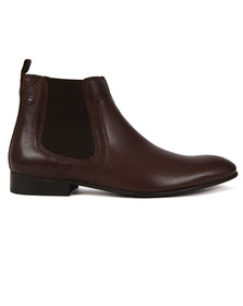 Base London Mens Brown Forbes  Boot