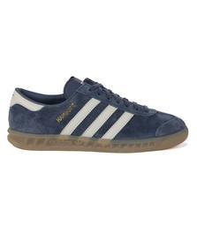 Adidas Originals Womens Blue Hamburg Trainer