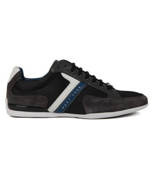 Boss Green Mens Grey Spacit Trainer
