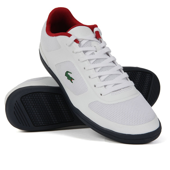 Lacoste Sport Mens White Court-Minimal 316 Trainer main image