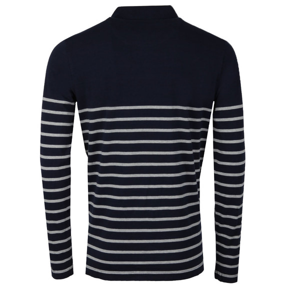 Crew Mens Multicoloured Marlow Breton Polo main image
