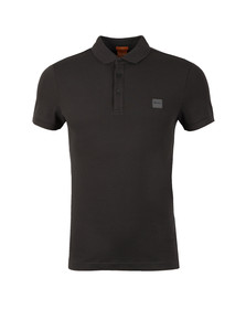 Boss Orange Mens Grey Pavlik Polo Shirt
