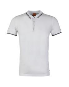 Boss Orange Mens White Pejo 1 Polo Shirt