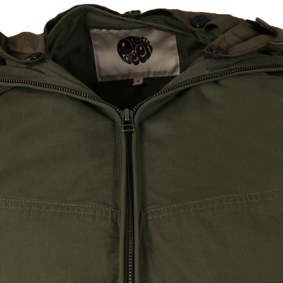 Pretty Green Mens Green Sevenoaks Jacket main image