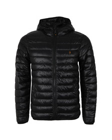 Farah Mens Black Kyloe Quilted Jacket