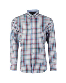 Crew Mens Multicoloured L/S Bartley Shirt