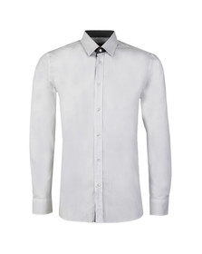 Hugo Mens White Elishan Slim Shirt