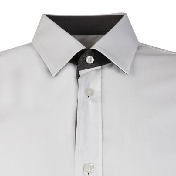 HUGO Mens White Elishan Slim Shirt