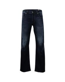 Diesel Mens Blue Diesel Larkee Straight Jeans